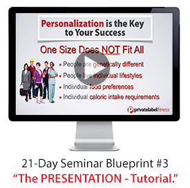 Seminar kit overview step by step tutorials the seminar kit includes a complete set of video tutorials called the 21 day seminar blueprint that walks you through all four malvernweather Image collections